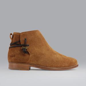 rosewood / camel wildleder / ledersohle - ekn footwear
