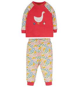 Kinder Pyjama aus Biobaumwolle - Frugi