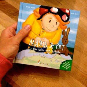 Marta & Piet – eine Reise nach Kalkutta von Michi Ricks / Natalie Weinke - Neunmalklug Verlag