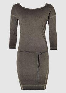 Magnum 3/4 Sleeve Dress Phantom - Kuyichi