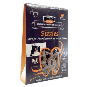 Sizzles - natürliche Hunde-Kaustangen aus Hüttenkäse - qchefs