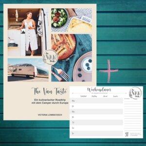 Buch »The Van Taste« + »Wochenplaner für hungrige Weltentdecker« - Wenn Nicht Jetzt-Verlag