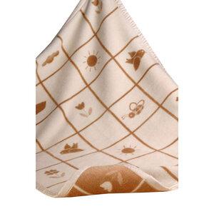 Baby- und Kinderdecke Milly 75*100 cm Bio-Baumwolle - Richter Textilien