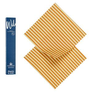 Bio-Bienenwachstuch 2er Set Medium - Wildwax