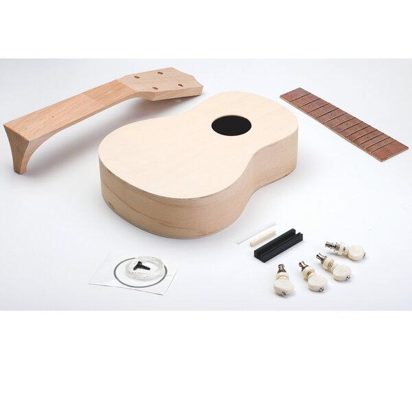 noted diy ukulele kit zum selbst zusammenbauen und gestalten avocadostore. Black Bedroom Furniture Sets. Home Design Ideas