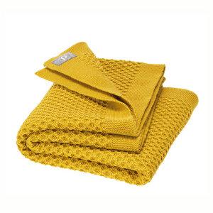 Disana Waben-Strickdecke Bio Merino-Wolle Baby Decke - Disana