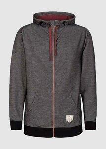 Structured Lightweight Jacket Dark Grey - bleed