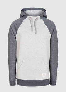 Essential Hoody Grey - bleed