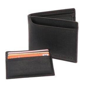 RFID Herren Brieftasche Öko-Leder Luton - dunkelbraun / braun vintage - MoreThanHip