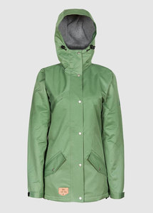 Functional Parka Ladies Olive - bleed