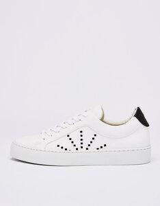 #gràcia - veganer Damen Laced Sneaker aus recycelter Microfaser - NINE TO FIVE