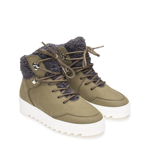 NAE Bego Suede- vegane, warme, knöchelhohe Boots - Nae Vegan Shoes