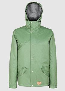 Functional Parka Olive - bleed