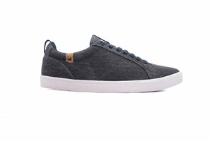 Vegane Sneaker für Herren - Cannon Canvas Dark Grey - SAOLA