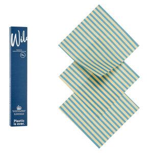 Bio-Bienenwachstuch 3er Set S - Wildwax