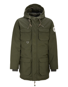 Heavy Parka Jacket Forrest Night - KnowledgeCotton Apparel