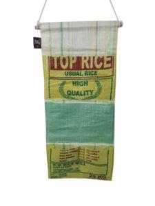 RICE & CARRY Hängeaufbewahrung mit drei Fächern - Rice&Carry