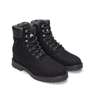 NAE Gadea Black- vegane, warme Mountain- Boots - Nae Vegan Shoes