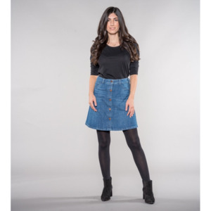 Sonia | A-shape Skirt | DENIM - Feuervogl