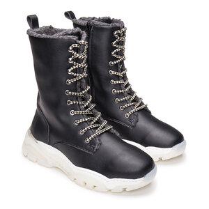 Nae Leyre Black- vegane, halbhohe Stiefe - Nae Vegan Shoes