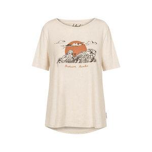 Windy Heights Hanf T-Shirt Damen Weiß - bleed