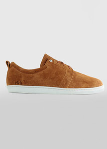 Birch Camel Suede White Sole - ekn footwear