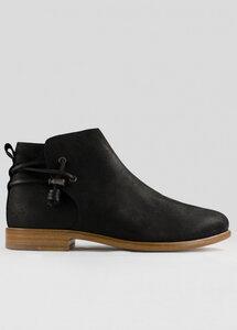 Rosewood Black Leather - ekn footwear