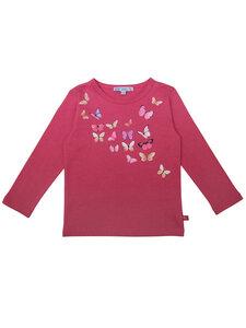 Kinder Langarm-Shirt Schmetterlinge reine Bio-Baumwolle - Enfant Terrible