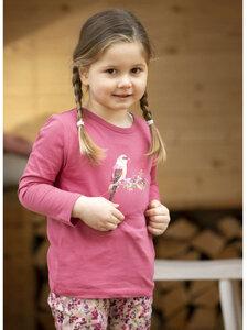 Kinder Langarm-Shirt Vögelchen reine Bio-Baumwolle - Enfant Terrible