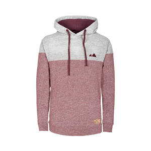Mountain Hoody Red Melange Herren - bleed