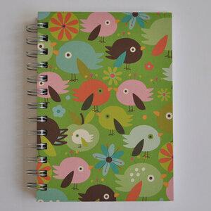 Notizbuch 'Robins Green' - EcoJot