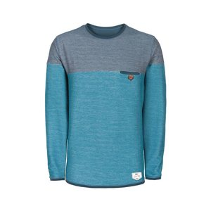 bleed Nordic Terry Sweater Blue - bleed