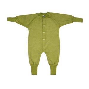 Cosilana Baby Schlafanzug 1-tlg ohne Fuss Woll-Frottee - Cosilana