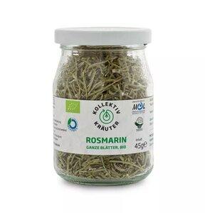 KollektivKräuter Bio-Rosmarin - ganze Blätter Rosmarin im Mehrwegglas - KollektivKräuter