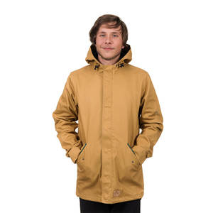 Guerilla Light Parka Mustard - bleed