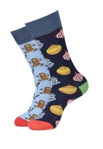 Bunte Socken, 2er Pack Bio Baumwolle - DillySocks