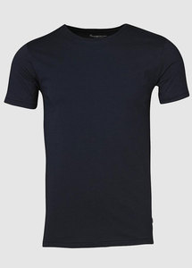 Basic Regular Fit O-Neck Tee Eclipse - KnowledgeCotton Apparel