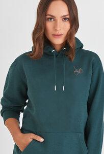 Smaragd - Kuscheliger Unisex Hoodie - Innen flauschig und sehr gemütlich/ Hazel - Kultgut