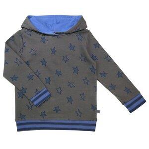 Kapuzen Hoody Shirt Sterne grün - Enfant Terrible