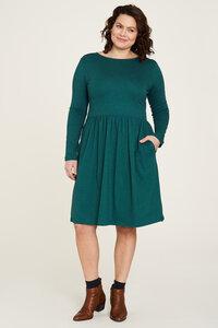 Jersey Kleid aus Bio-Baumwolle mit Print in verschiedenen Farben - TRANQUILLO