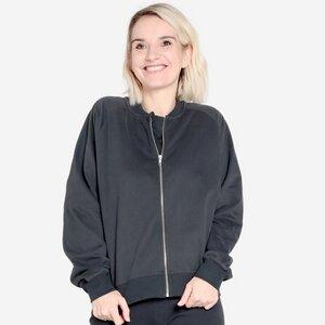 Zip-It-Up Sweater - Frauen Zipper aus weichstem Bio-Baumwoll Fleece - Orbasics
