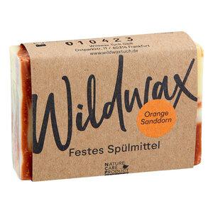 Wildwax Festes Spülmittel Orange Sanddorn - Wildwax