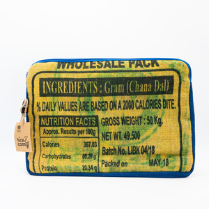 RICE & CARRY Tablettasche Cover 10'' aus Jute - Rice&Carry