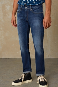 Straight-Fit Jeans aus Bio Baumwolle - Ryan - medium used - Kings Of Indigo