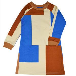 Baba Kidswear Mädchen Kleid Blockfarben – Bio-Baumwolle - Baba Kidswear