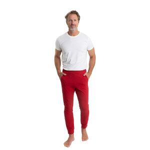 Slim-fit Pyjamahose (vegan) für Herren mit Taschen - pajama-day