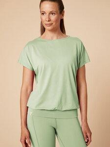 "Gemütliches Yoga-Shirt ""Kuschel-Indrani"" aus Biobaumwolle - chakrana"