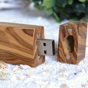 USB-Stick (4GB) aus Olivenholz - Olivenholz erleben