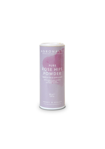 PURE – Rose Hip Powder (sanftes Körperpeeling für sensible Haut) - Agronauti Cosmetics