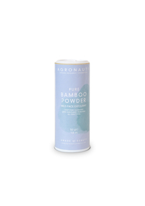 PURE – Bamboo Powder (mittelstarkes Gesichtspeeling) - Agronauti Cosmetics